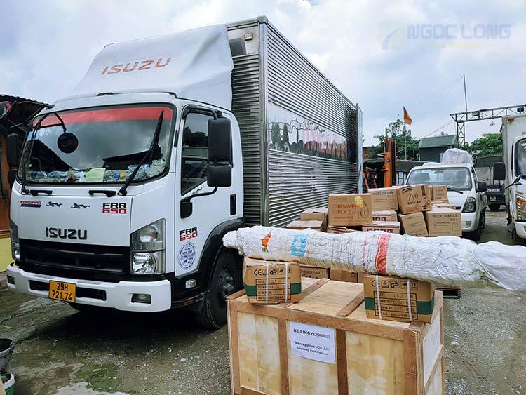 Xe tải chở hàng hà nội phú yên