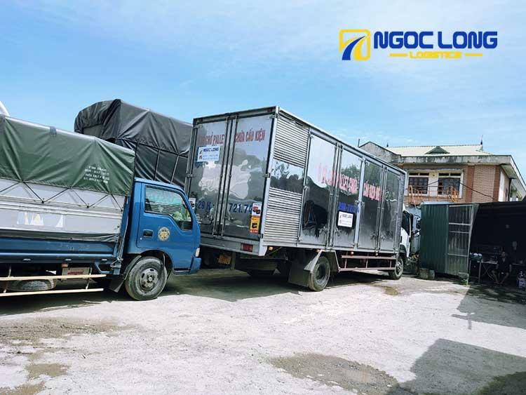 xe tải chở hàng đi quảng ngãi